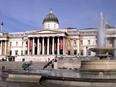 Trafalgar Square und Art Museum London